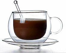 Tassen, Kaffee/Tee Doppelwand hitzebeständiges