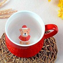 Tassen Neue Kreative Rote Tasse Milchbecher