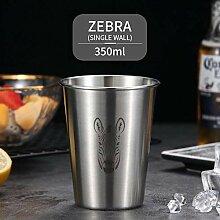 Tassen Niedliche Muster Bierkrug 304 Edelstahl
