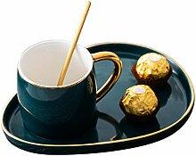Tassen Trinken 1Pcs Vintage Porzellan Kaffeetasse