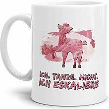 Tassendruck Alpaka-Tasse Ich Tanze Nicht Ich