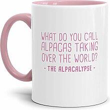 Tassendruck Alpaka-Tasse The Alpacalypse - Innen &
