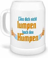 Tassendruck Bierkrug Lass Dich Nicht Lumpen, hoch
