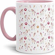 Tassendruck Einhorn-Tasse mit Spruch Unicorn -
