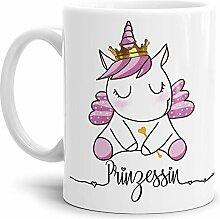 Tassendruck Einhorn-Tasse mit Spruch Unicorn