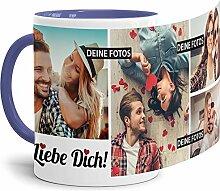 Tassendruck Fototasse mit Spruch - Ich Liebe Dich
