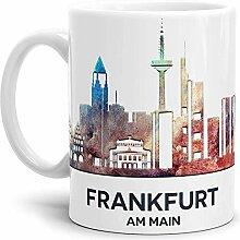 Tassendruck Frankfurt-Tasse Skyline -