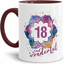 Tassendruck Geburtstags-Tasse 18 and Wonderful