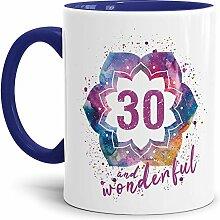 Tassendruck Geburtstags-Tasse 30 and Wonderful