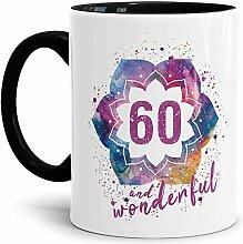 Tassendruck Geburtstags-Tasse 60 and Wonderful