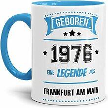 Tassendruck Geburtstags-Tasse Geboren 1976 Eine