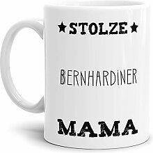 Tassendruck Hunde-Tasse Stolze Bernhardiner Mama