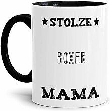 Tassendruck Hunde-Tasse Stolze Boxer Mama