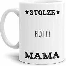 Tassendruck Hunde-Tasse Stolze Bulli Mama