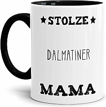 Tassendruck Hunde-Tasse Stolze Dalmatiner Mama