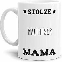 Tassendruck Hunde-Tasse Stolze Malteser Mama