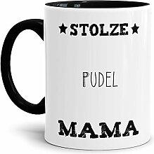 Tassendruck Hunde-Tasse Stolze Pudel Mama