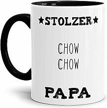 Tassendruck Hunde-Tasse Stolzer Chow Chow Papa