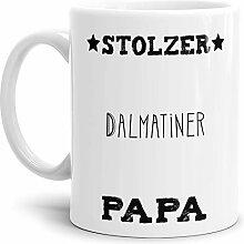 Tassendruck Hunde-Tasse Stolzer Dalmatiner Papa