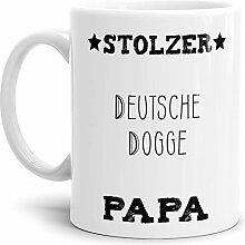 Tassendruck Hunde-Tasse Stolzer Deutsche Dogge