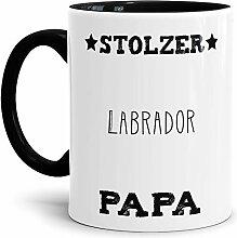 Tassendruck Hunde-Tasse Stolzer Labrador Papa