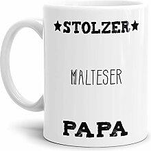 Tassendruck Hunde-Tasse Stolzer Malteser Papa