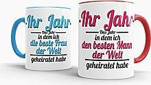 Tassendruck Partner-Tassen Besten Mann, Beste Frau