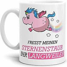 Tassendruck Unicorn/Einhorn/Tasse mit Spruch -