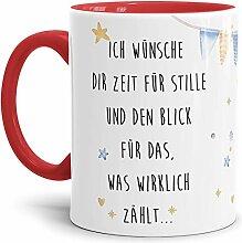 Tassendruck Weihnachts-Tasse mit Spruch Ich