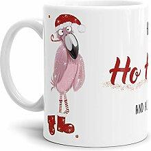 Tassendruck Weihnachtstasse Happy Ho Ho Ho