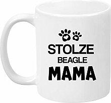 TassenTicker® - ''Stolze Beagle