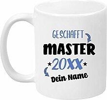 TassenTicker - Tasse zum Master 20XX -