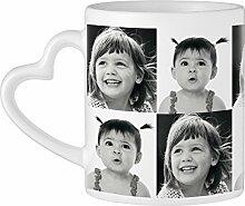 Tassenwerk - Kaffeebecher mit Herzhenkel und