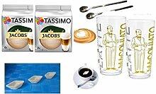 Tassimo Jacobs Krönung Latte Macchiato, 2er Pack