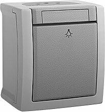 Taster, Schalter , Aufputz, Feuchtraumsteckdose, ViKO, IP 54