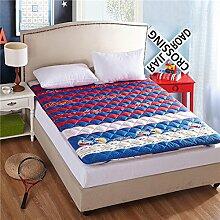 Tatami-matten,matratze matratze student,schlafsaal,etagenbett,verdicken sie,weiche matratze-D 90x200cm(35x79inch)