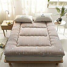 Tatami-matten,matratze matratze student,schlafsaal,etagenbett,verdicken sie,weiche matratze-B 100x200cm(39x79inch)