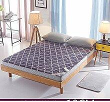 Tatami-matten,matratze matratze student,schlafsaal,etagenbett,verdicken sie,weiche matratze-L 90x200cm(35x79inch)