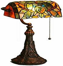 TATANE E27 Tiffany-Lampen, Glasmalerei Und Barock