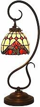 TATANE E27 Tiffany-Lampen, Glasmalerei Und
