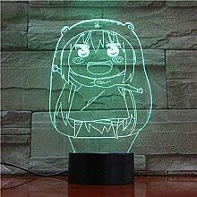 Tatapai 3D Nachtlicht Himouto Umaru-Chan Figur