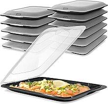 TATAY 12er Set Aufschnitt Frischhaltedosen mit