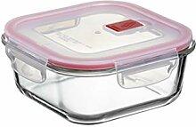 TATAY Glas-Frischhaltedosen, Vakuum, 0,8 l