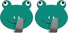 Tatkraft Frogs Stark Selbstklebend Edelstahl