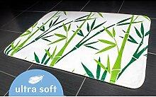 Tatkraft grün Bambus Badematte, 50x 80cm