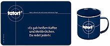 Tatort Frühstücks-Set Frühstücksbrettchen +