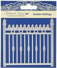 Tattered Lace Garten Geländer, silber