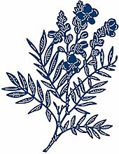 Tattered Lace Wild Primrose, Silber