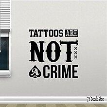 Tattoo Wandtattoo Heimtextilien, Abziehbarer Vinyl
