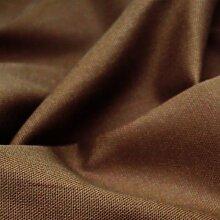 Taupe 100% Baumwolle Canvas Stoff–Uni Farben Material–144,8cm (146cm breit, Meterware,